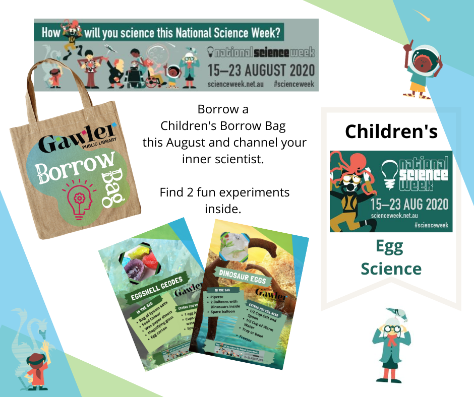 Borrow Bags August Children - Science