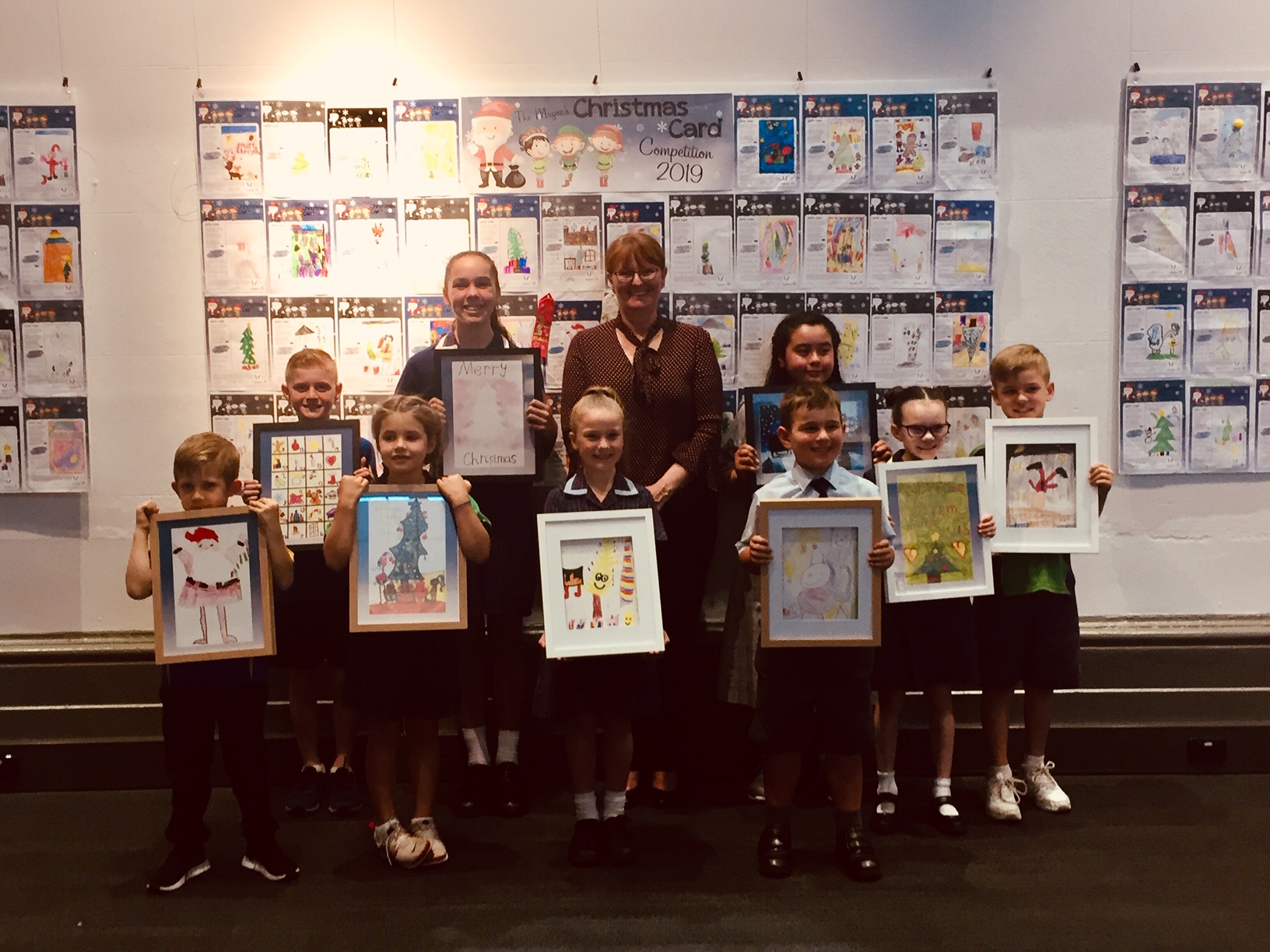 2019 Mayors Christmas Card Competition Winners