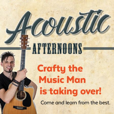 Acoustic Afternoons term 4