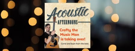 Acoustic Afternoons banner