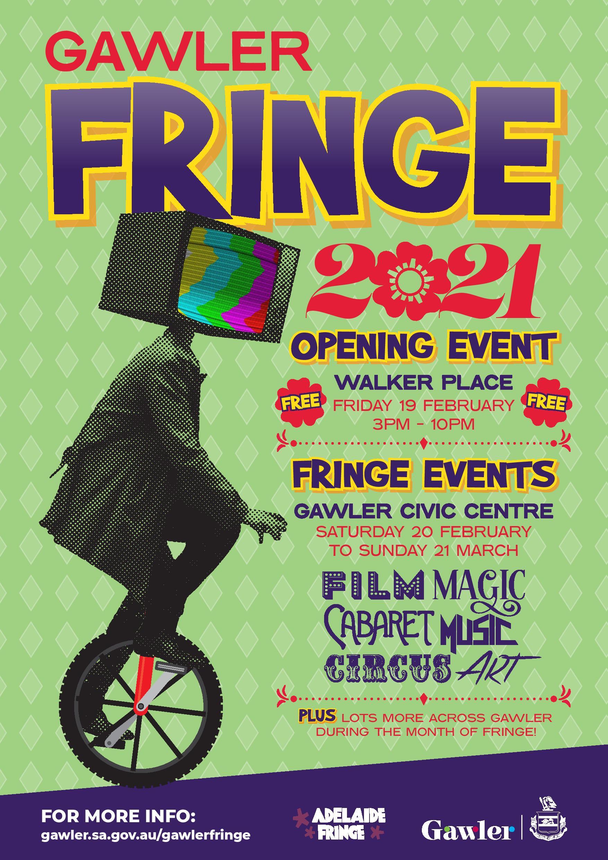 2021 Gawler Fringe Poster