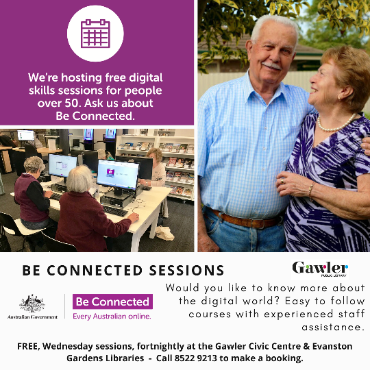 Be Connected Sessions