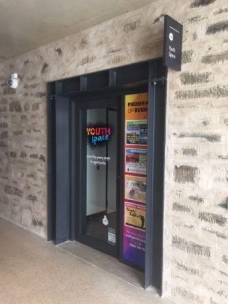 Youth Space External Door