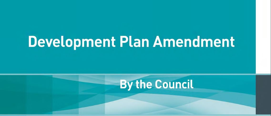 Development Plan Amendment