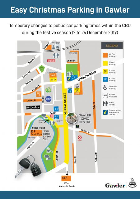 Car Parking Map for Xmas