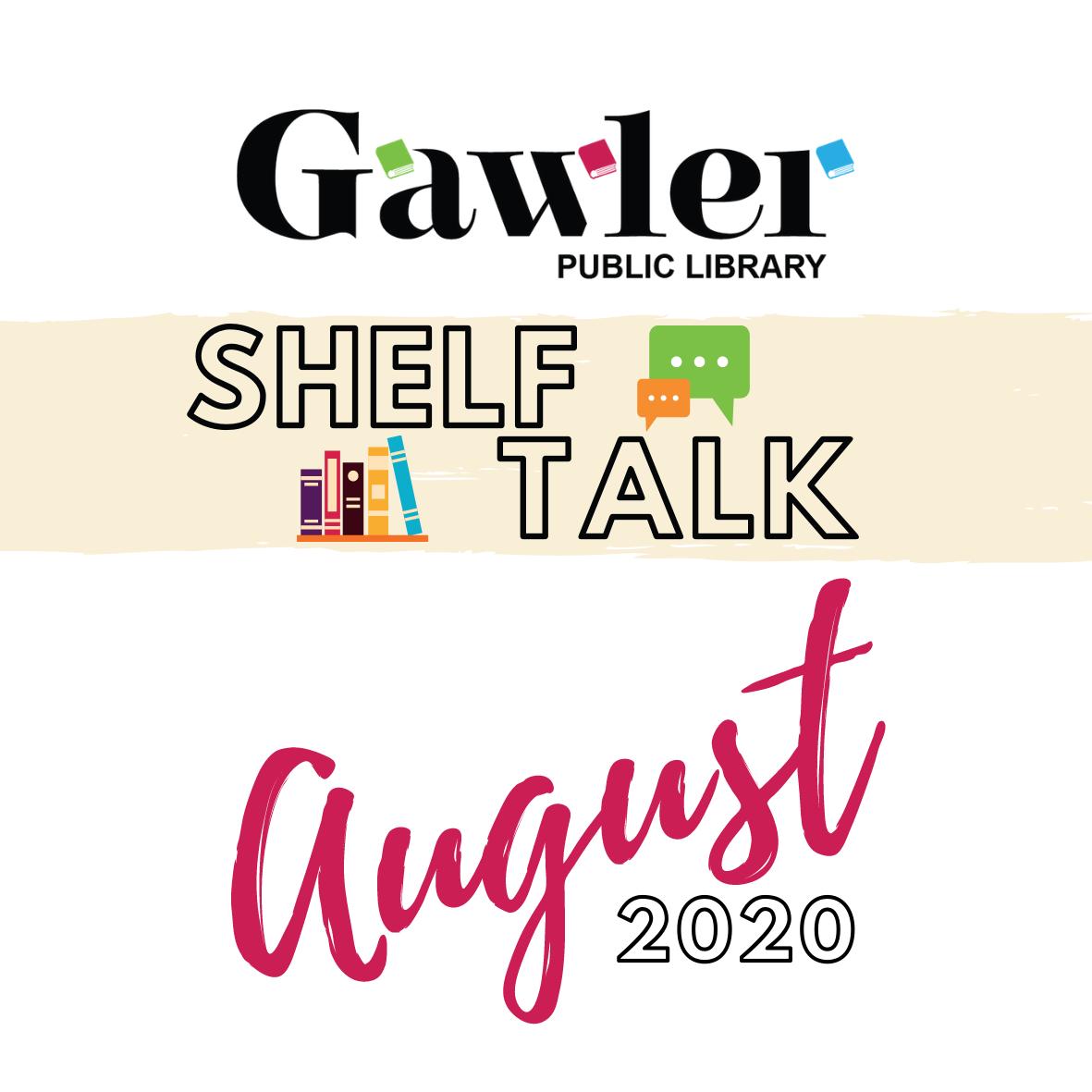 Shelf Talk Button - August
