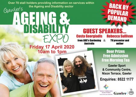Gawler Ageing and Disability Expo Poster