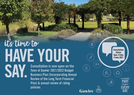 Budget - have your say