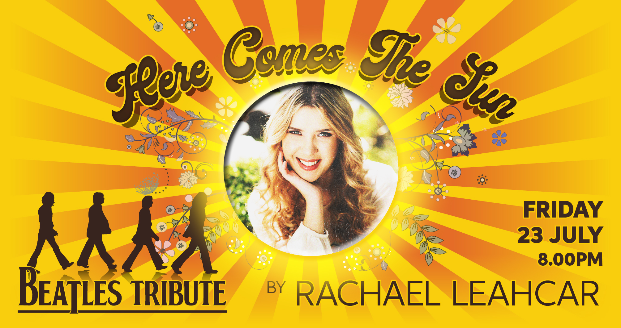 Here Comes The Sun Beatles Tribute by Rachael Leahcar