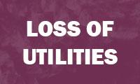 Loss of Utilities